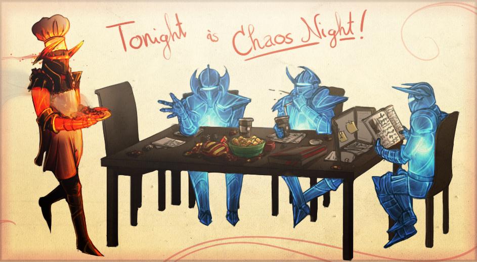 Drawn night chaos knight Http://orig06 deviantart Build d6u590y Chaos: