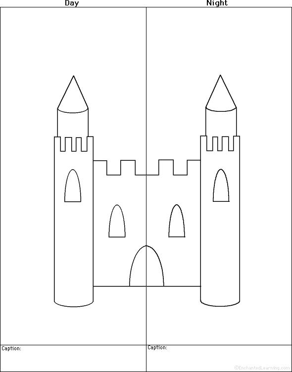 Drawn castle easy #9