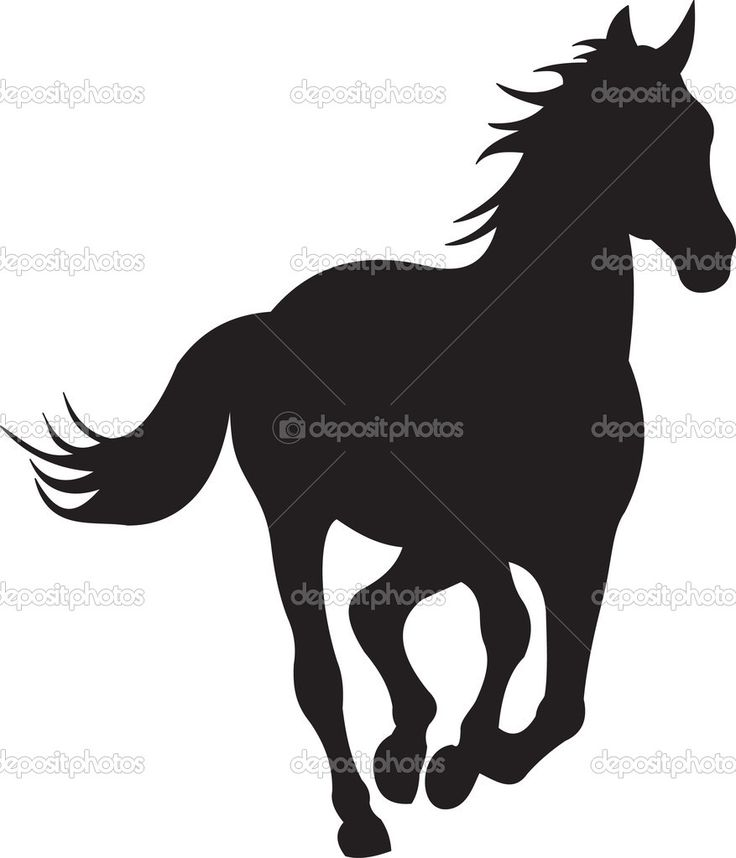 Larger clipart headed Horse images and this silhouettes