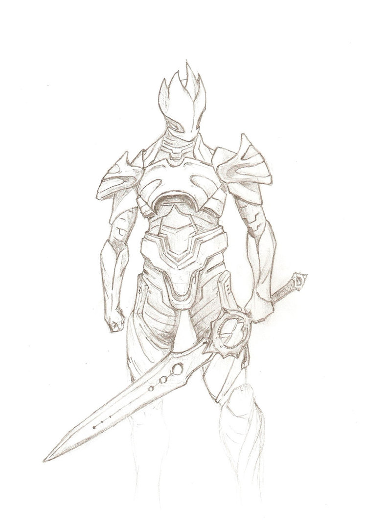 Drawn night infinity blade King King Vilbor by Vilbor
