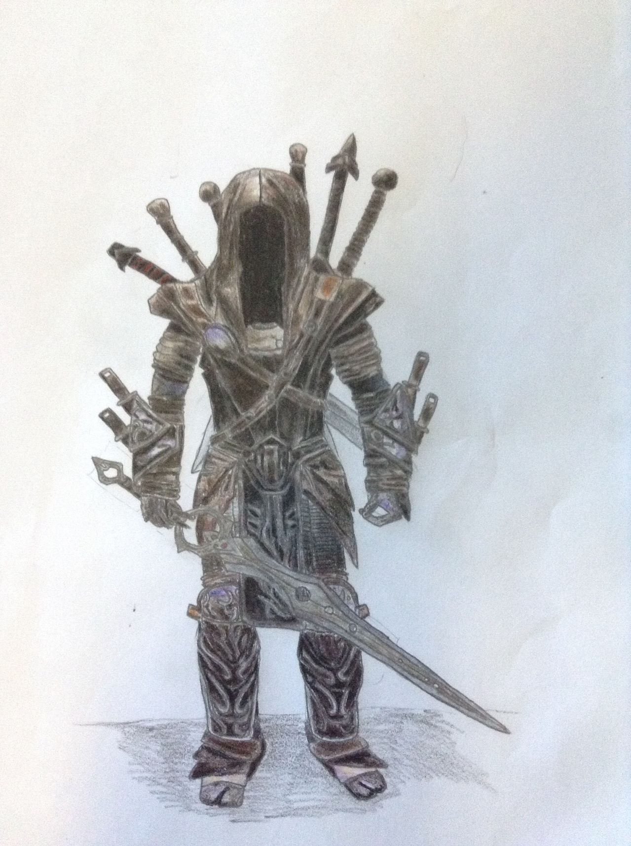 Drawn night infinity blade To Thread Blademasters for III