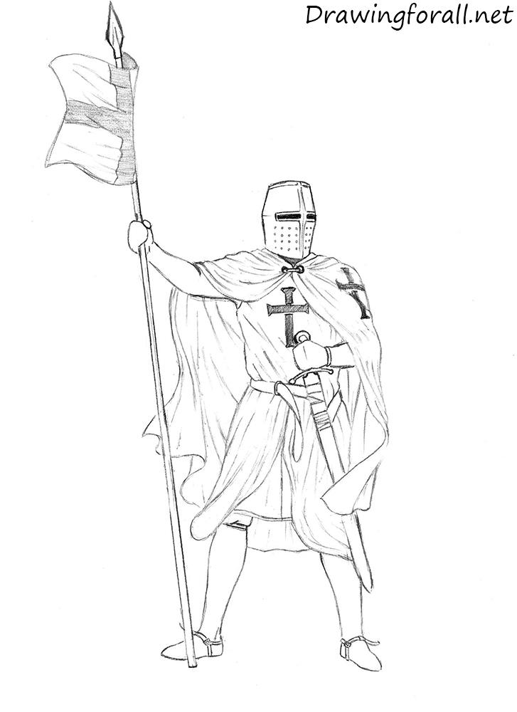 Drawn samurai knight A DrawingForAll Draw net knight
