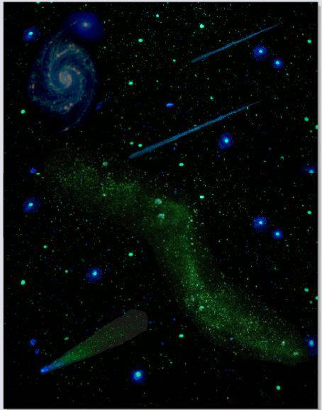 Drawn night sky ceiling Dark Pinterest stars  ideas