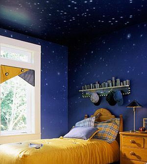 Drawn night sky ceiling Jeff 66 Murals sky images