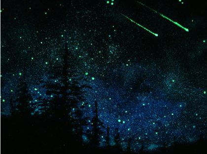 Drawn night sky painted ceiling On in ceiling ideas do