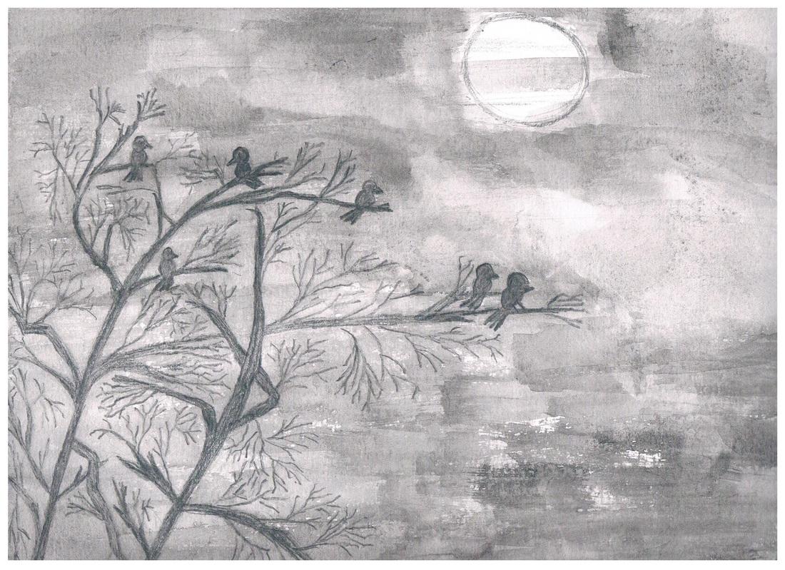 Drawn night sky pencil drawing The  Pics How Night