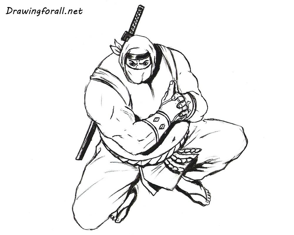 Drawn ninja Draw to How net ninja