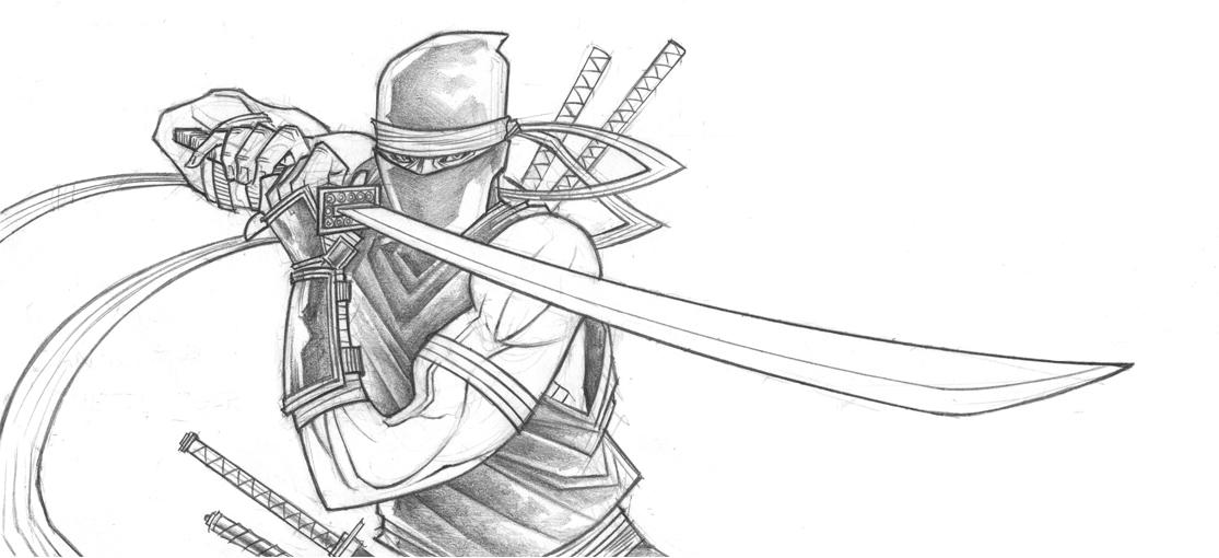 Drawn ninja Ninja DeviantArt Ninja Tradd by