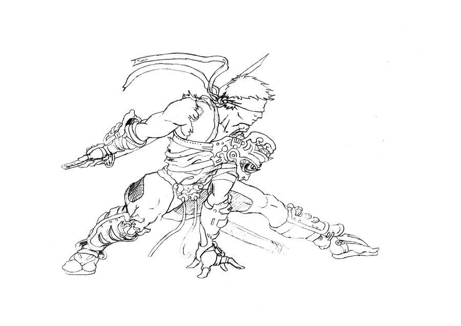 Drawn ninja DeviantArt drawn Antuniey 00027 Ninja