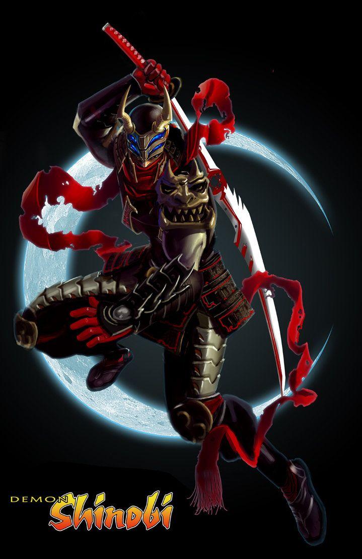 Drawn ninja demon By Ninjas ~dylanliwanag on 106