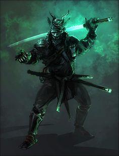 Drawn ninja demon « Demon Tarosan by