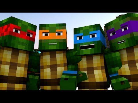 Drawn ninja minecraft 9 best images Turtles Animation]