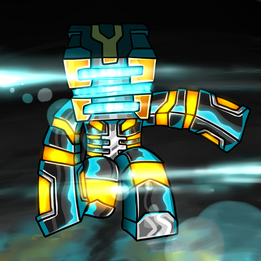 Drawn ninja minecraft By GoldSolace Avatar by GhostGaming