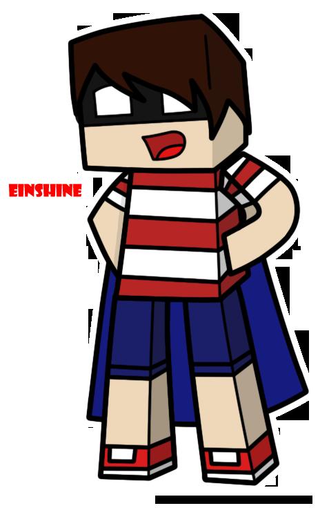 Drawn ninja minecraft Einshine c: The by Minecraft: