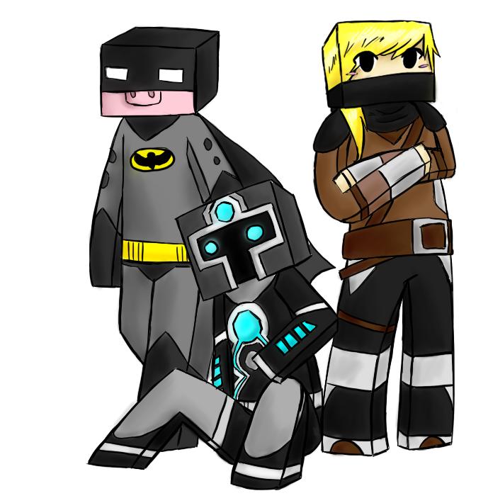 Drawn ninja minecraft Cephal needs artist! needs ART]