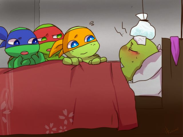 Drawn ninja sick Teenage and Pinterest turtles ninja