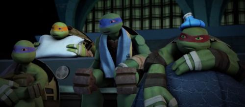 Drawn ninja sick Turtles sick turtles Poor sick