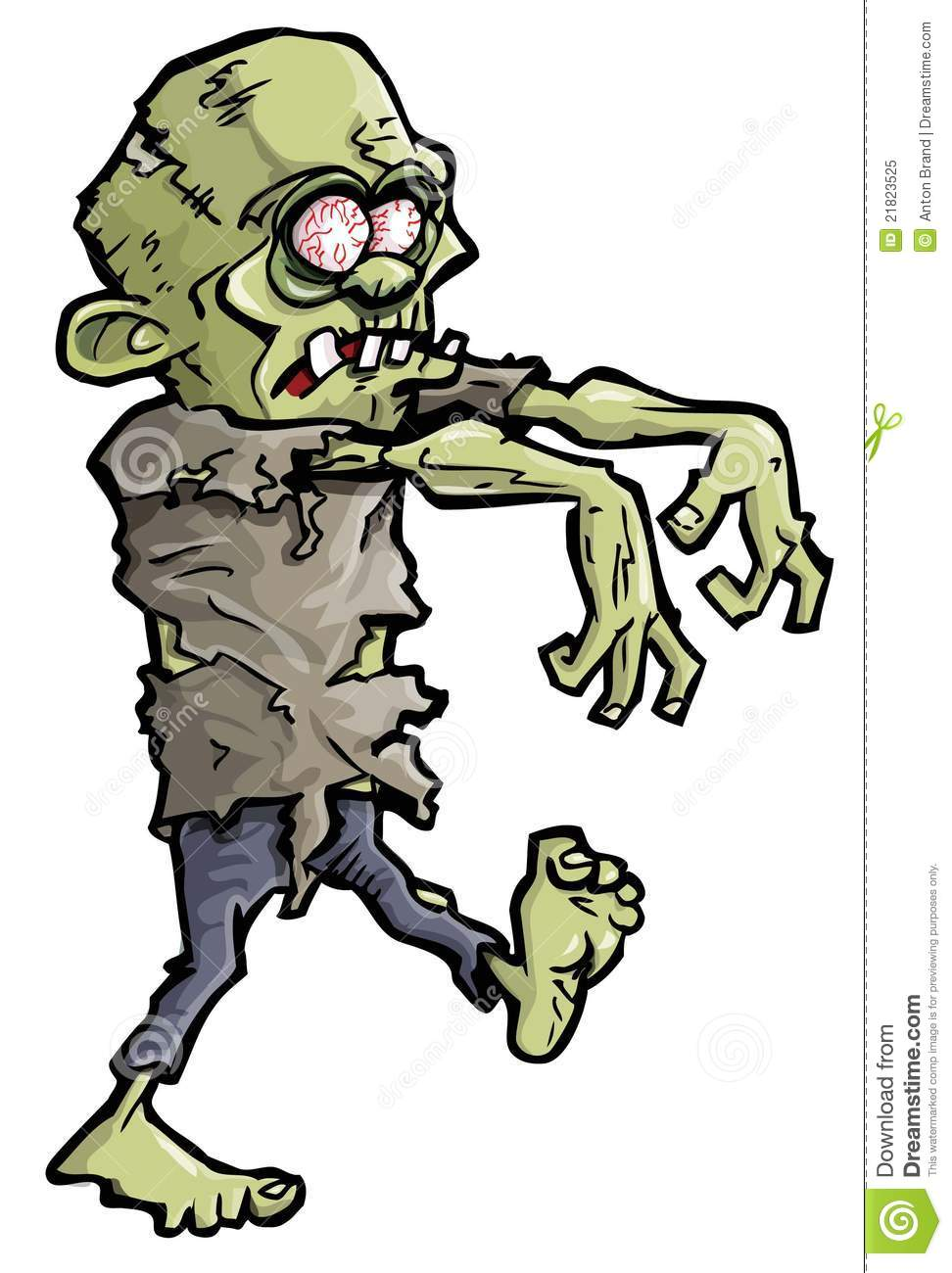 Zombie clipart green Camp summer summer and and