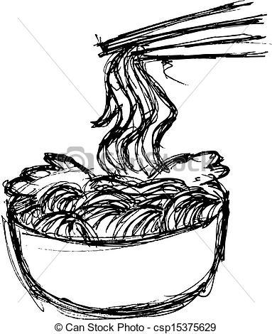 Drawn noodle #11