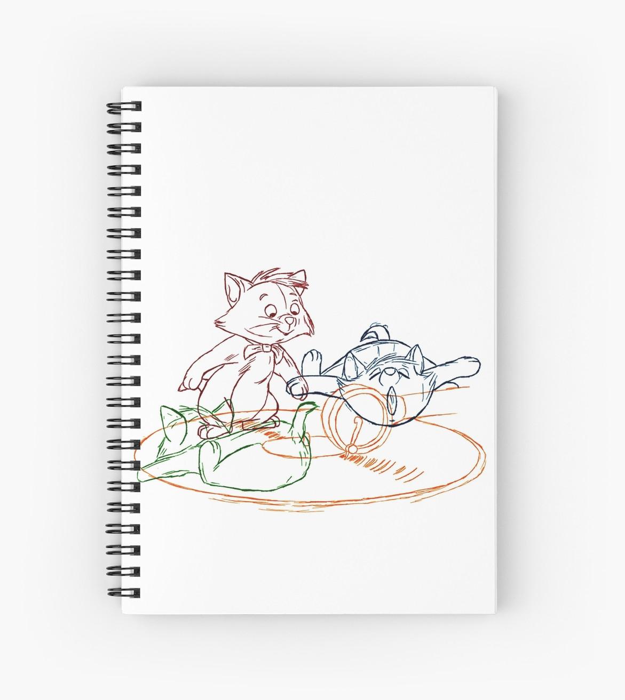 Drawn notebook animation Minette  Key animation Wasserman