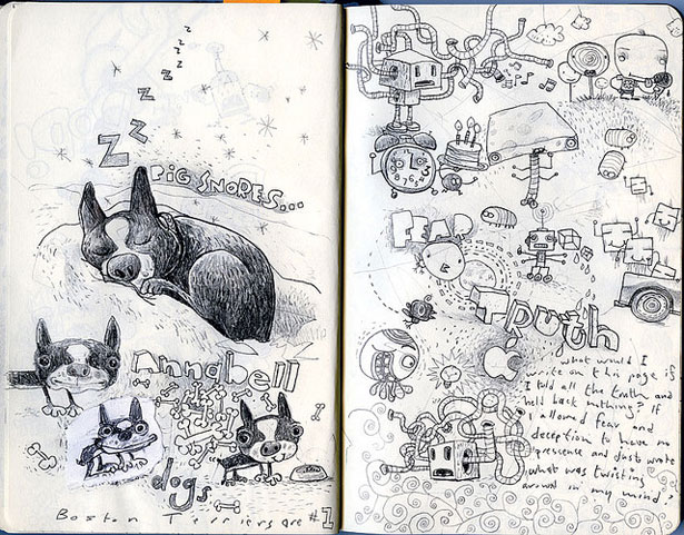 Drawn notebook art 75 Notebook Art Artworks Moleskine