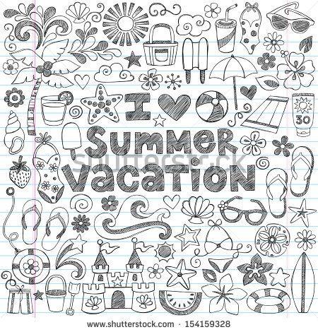 Drawn notebook Vacation doodles Drawn 25+ Doodles