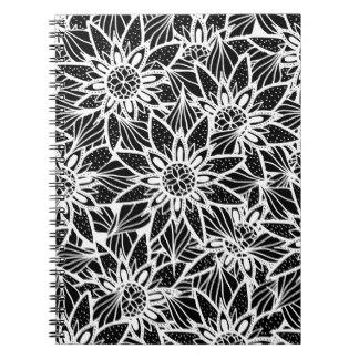 Drawn notebook White Zazzle Drawing & White