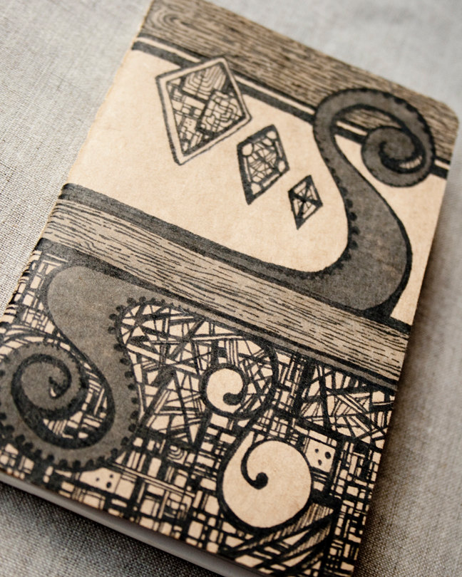 Drawn notebook hand drawn Drawn item? Black this Kraft