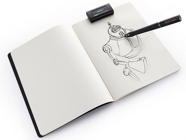 Drawn notebook high tech The images  flex a