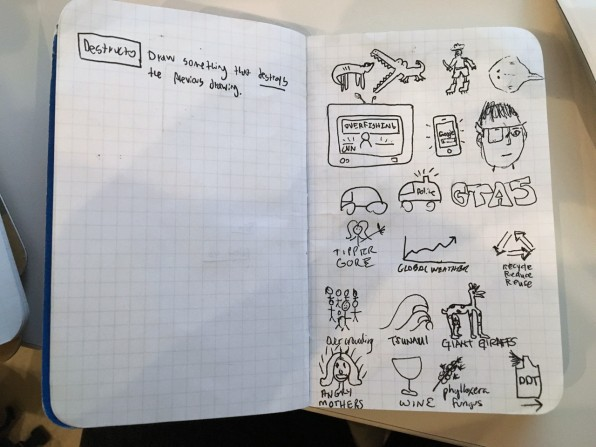 Drawn notebook high tech Max Designers a Temkin's Favorite