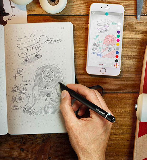Drawn notebook high tech Moleskine lost Pinterest ideas Moleskine