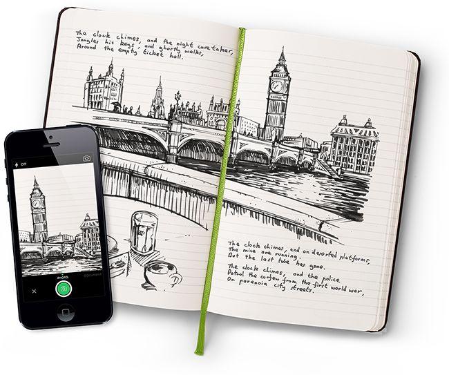 Drawn notebook high tech Moleskine's cool Pinterest ideas it