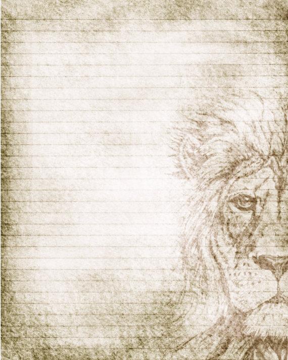 Drawn notebook printable JPG Lined Drawing Stationery JPG
