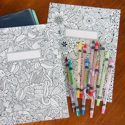 Drawn notebook printable On color to Notebook Printable