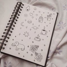 Drawn notebook simple #7