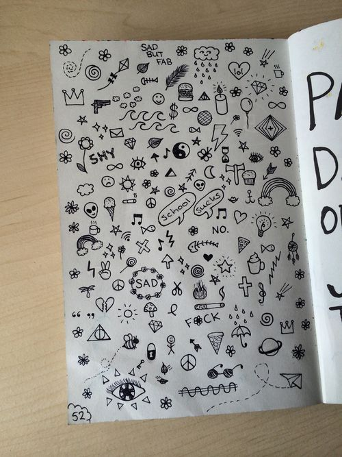 Drawn notebook simple #2