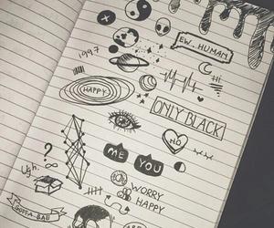 Drawn notebook sketch Notebook Pinterest cute Search Google