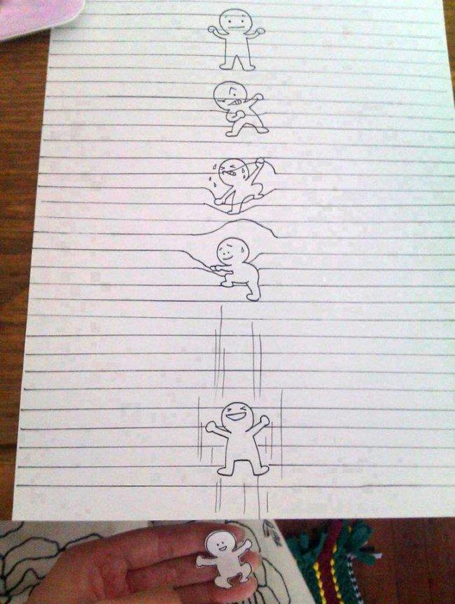 Drawn notebook sketch Art drawing  3d notebook