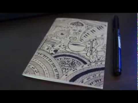 Drawn notebook sketch Homeroaster Drawing coffeebark Drawing homeroaster