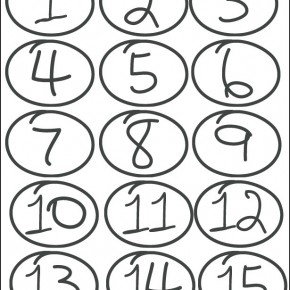Drawn number heart Icons Number Hand Drawn 1