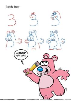 Drawn number animal Animals Numbers With Drawings Animals