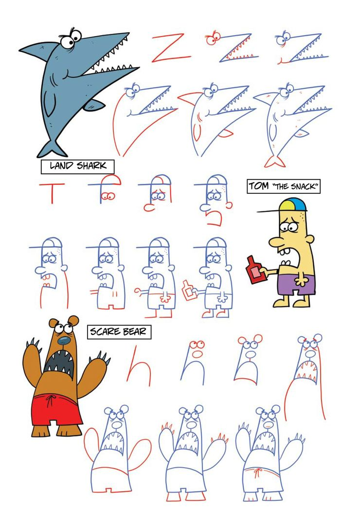 Drawn number animal Best fun this with Crazy