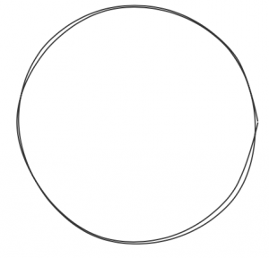 Drawn number circle png The As see two technique