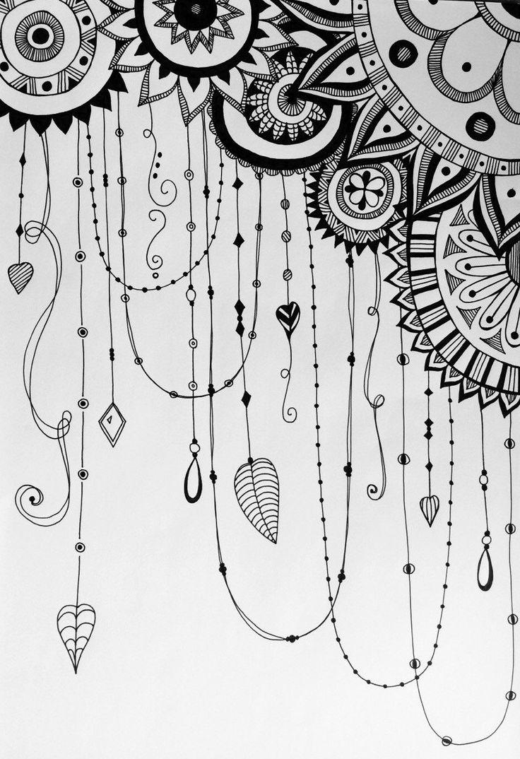 Drawn number doodle Doodle zentangle Hand variation 25+