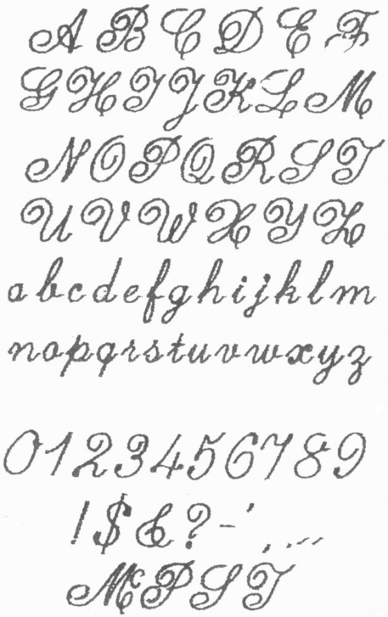 Drawn number fancy writing Featuring now fonts  literary