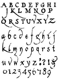 Drawn number fancy writing Alphabet Alphabet alphabet Fancy Styles