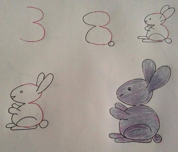Drawn number fun With ideas 25+ numbers Pinterest