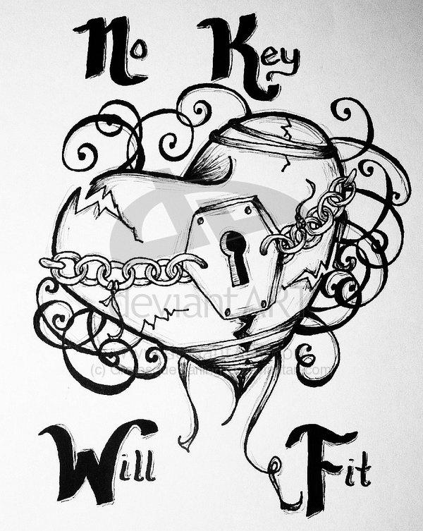 Drawn number heart On Best tattoo  Pinterest