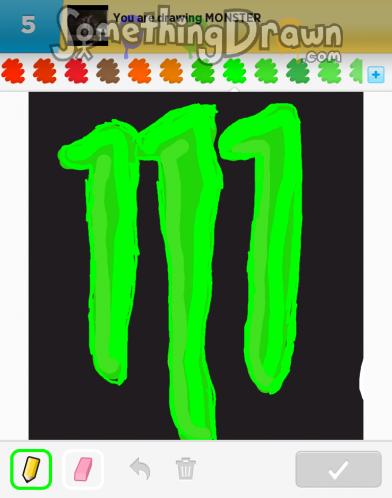 Drawn number monster Something Megan MONSTER by SomethingDrawn