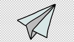 Drawn number transparent background Drawing stock animation plane animation